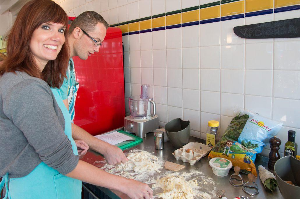 workshop pasta fresca Nicoletta la cucina del sole amsterdam