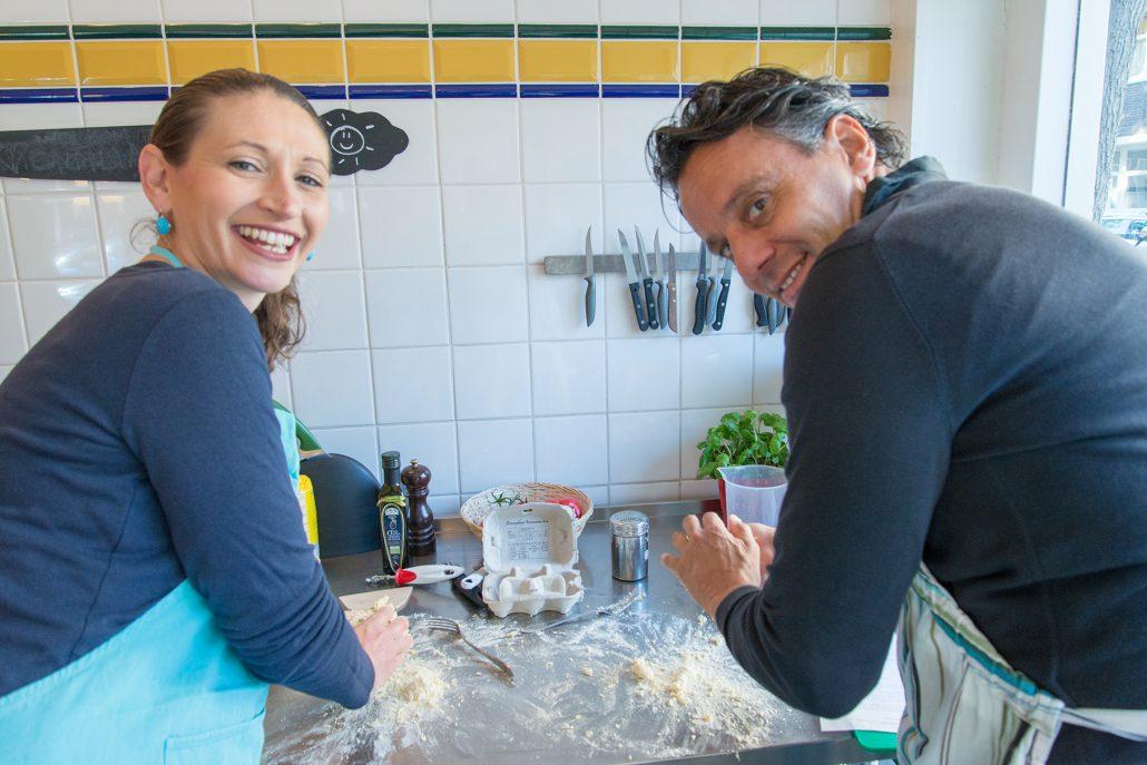 Pasta workshop la cucina del sole amsterdam