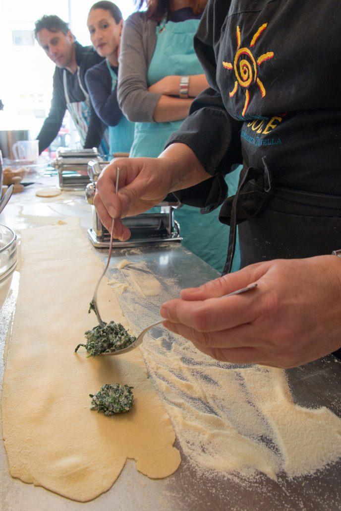 workshop pasta fresca ravioli Nicoletta la cucina del sole amsterdam