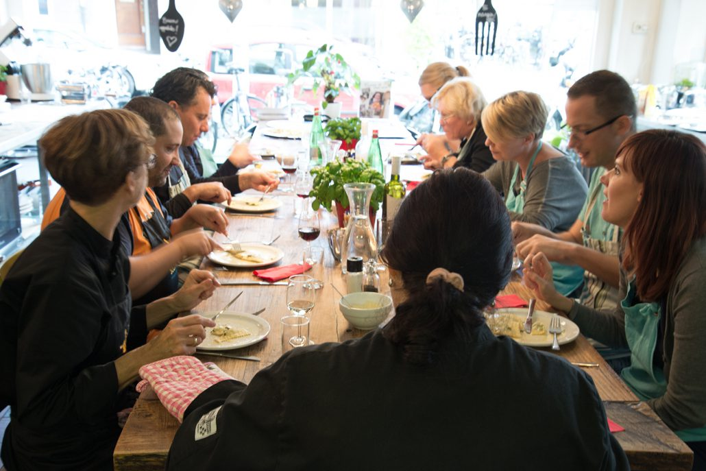 Workshop degustation la cucina del sole amsterdam