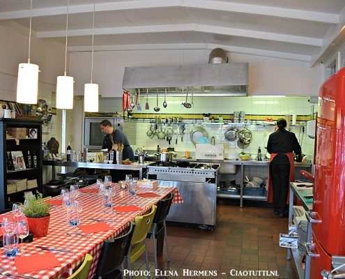 kookstudio cookery school La Cucina del Sole