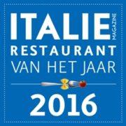 verkiezing italiaans restaurant van het jaar 2016 election best Italian restaurant 2016
