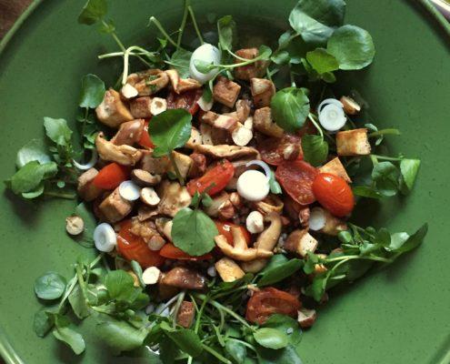 vegetarische maaltijdsalade big vegetarian salad