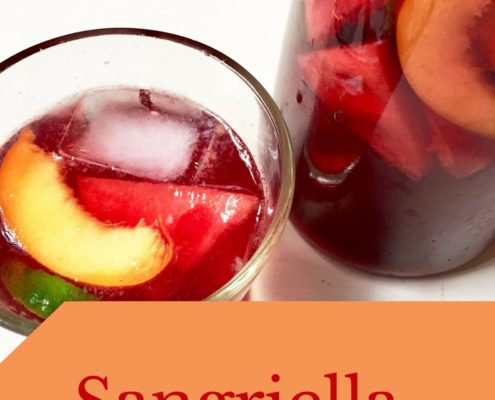Sangriella cocktail