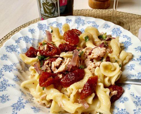sicilian pasta with tuna
