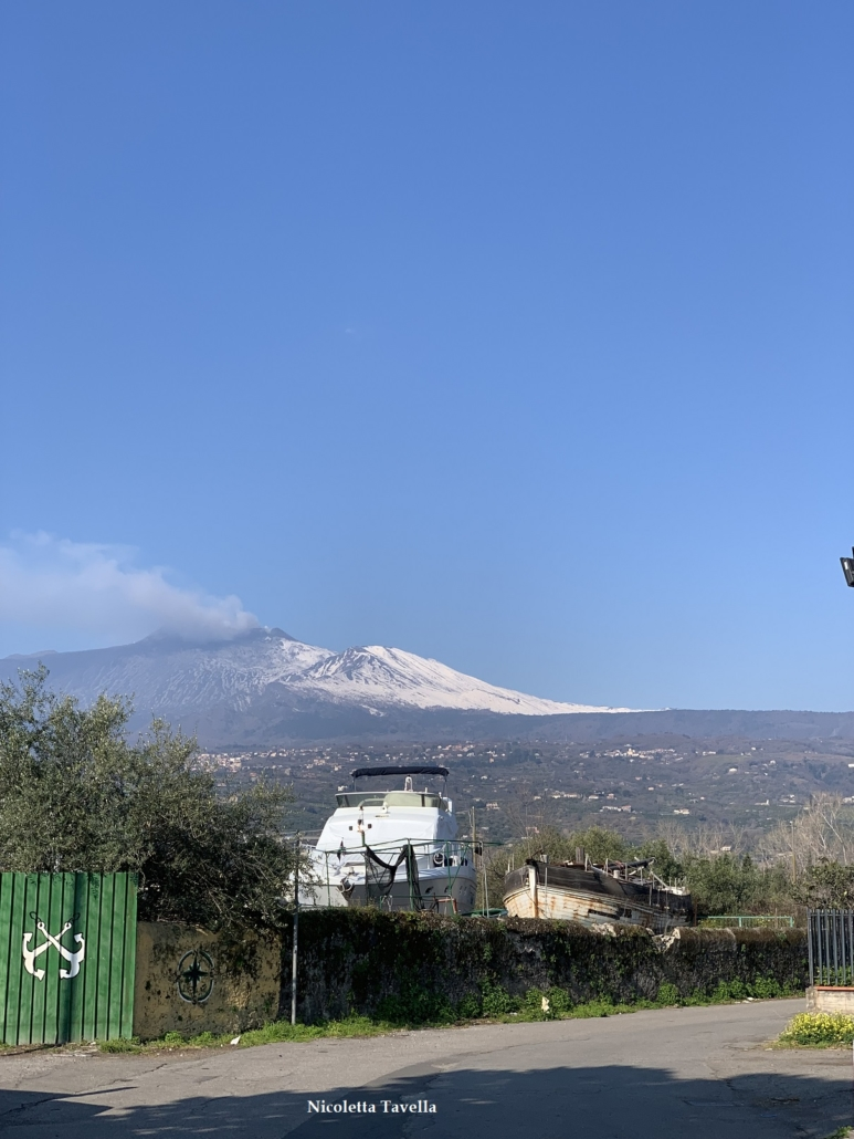 Etna seen from Giarre