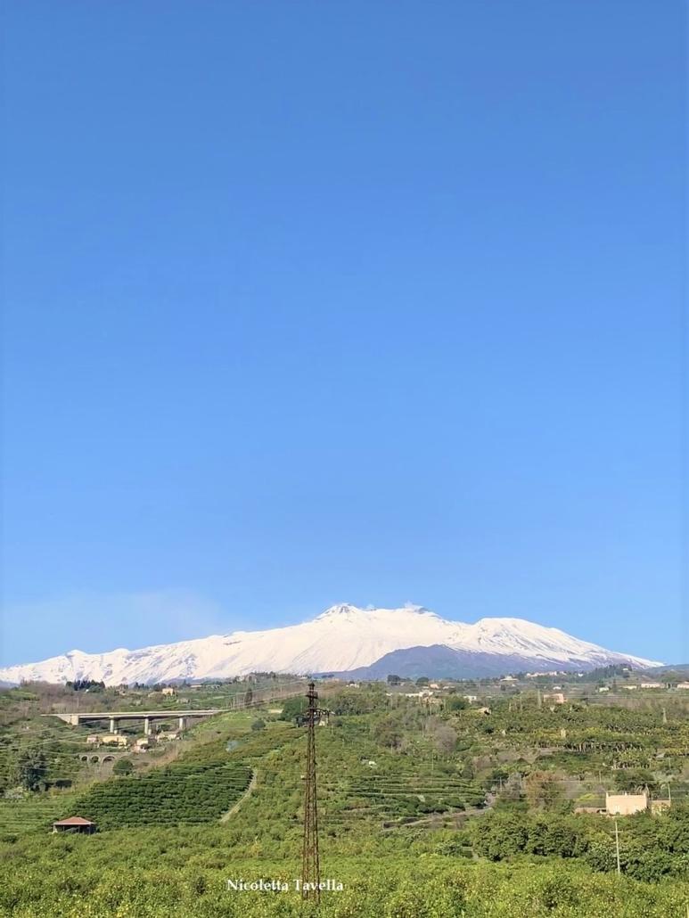 Snowy Etna