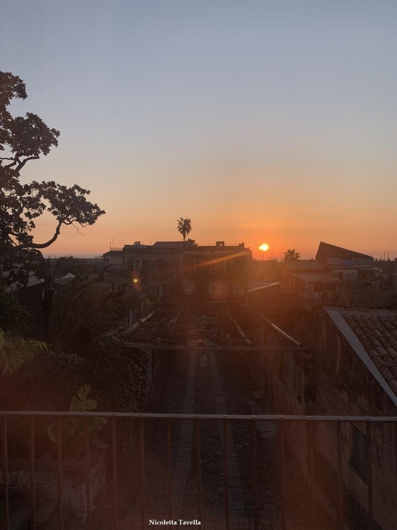 sunrise Giarre Sicily