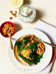 carrot and hazelnut pesto
