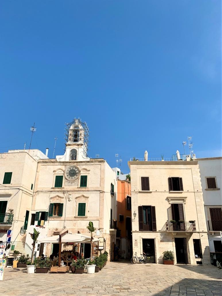 Polignano culinary holiday kookvakantie Puglia