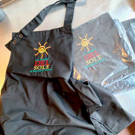 apron La Cucina del Sole