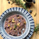 risotto with blueberries rosemary and red wine