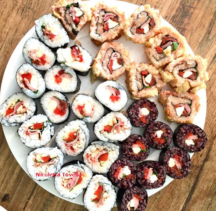 Italian sushi class