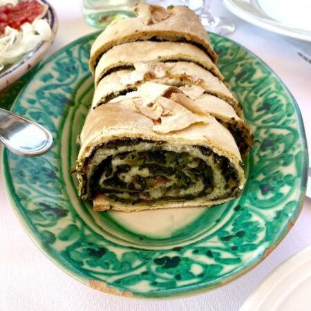 Sicilian fuazza agli spinaci